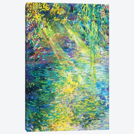 Waxwillow Lagoon I Canvas Print #IRS259} by Iris Scott Canvas Art Print