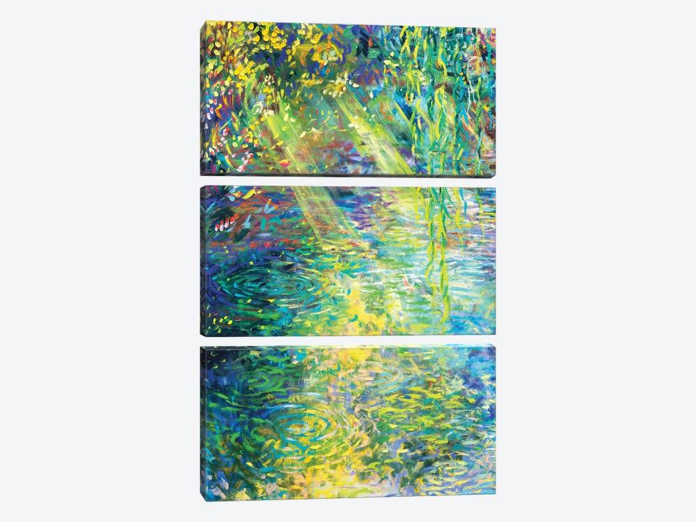 Waxwillow Lagoon I by Iris Scott 3-piece Canvas Print