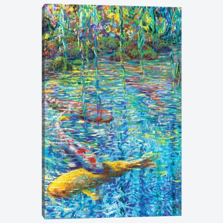 Waxwillow Lagoon II Canvas Print #IRS260} by Iris Scott Canvas Art