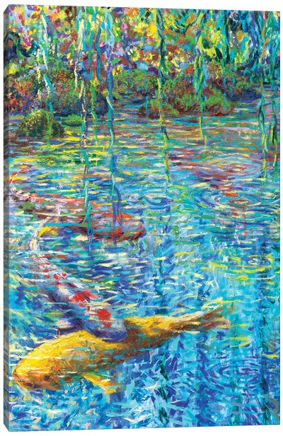 Waxwillow Lagoon II Canvas Art Print