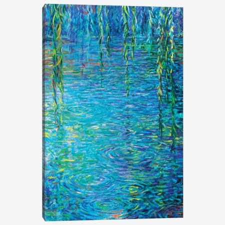 Waxwillow Lagoon III Canvas Print #IRS261} by Iris Scott Canvas Art