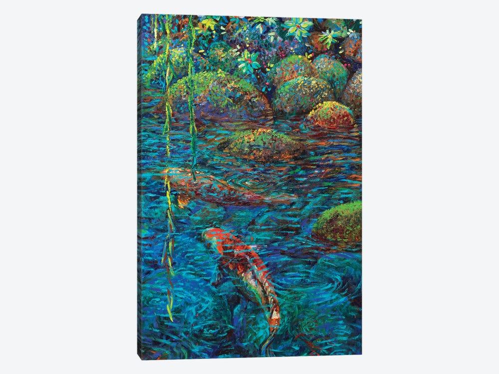 Waxwillow Lagoon IV by Iris Scott 1-piece Canvas Print