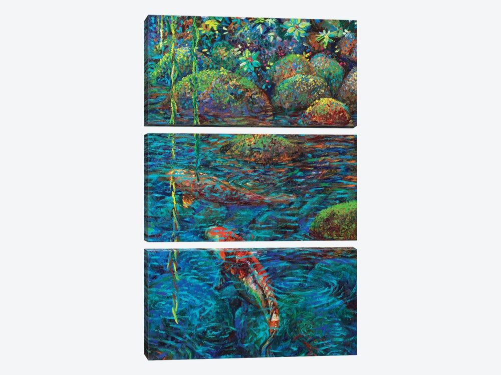 Waxwillow Lagoon IV by Iris Scott 3-piece Art Print