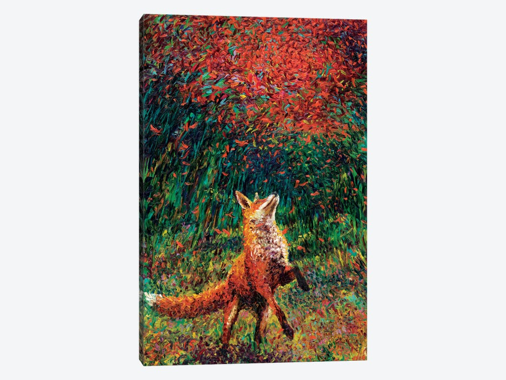 Fox Fire by Iris Scott 1-piece Canvas Art