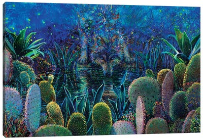 Lobo Sirocco Canvas Art Print
