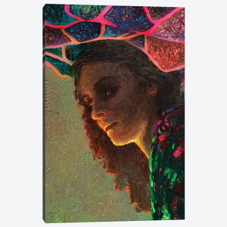 The Poetess Canvas Print #IRS288} by Iris Scott Canvas Artwork