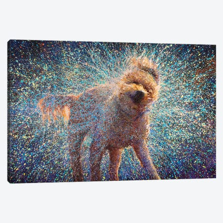 Canis Rufus Canvas Print #IRS296} by Iris Scott Canvas Art