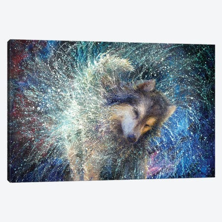 Luna The Sidereal Canvas Print #IRS302} by Iris Scott Art Print
