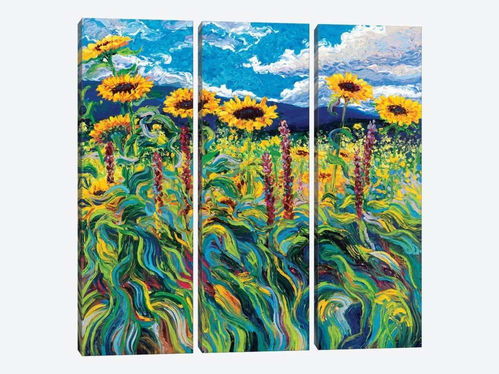 Foxy Triptych Panel III by Iris Scott 3-piece Canvas Print