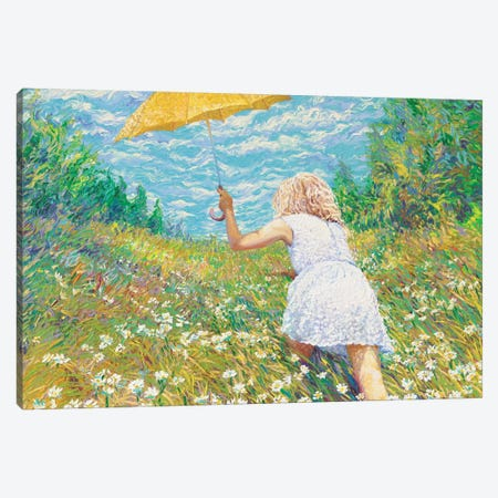 Francesca Canvas Print #IRS32} by Iris Scott Canvas Artwork