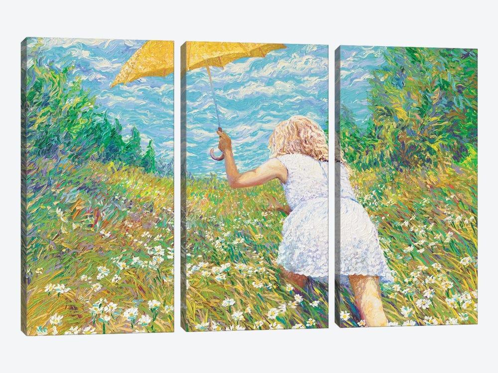 Francesca by Iris Scott 3-piece Canvas Art Print