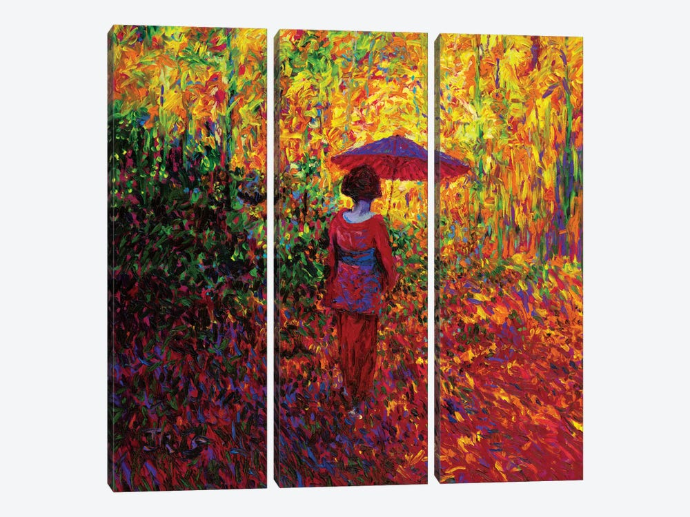 Geisha by Iris Scott 3-piece Canvas Art
