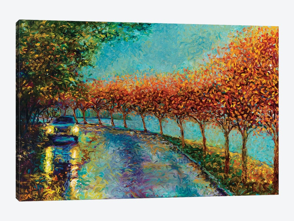 Lake Washington Boulevard by Iris Scott 1-piece Canvas Art Print