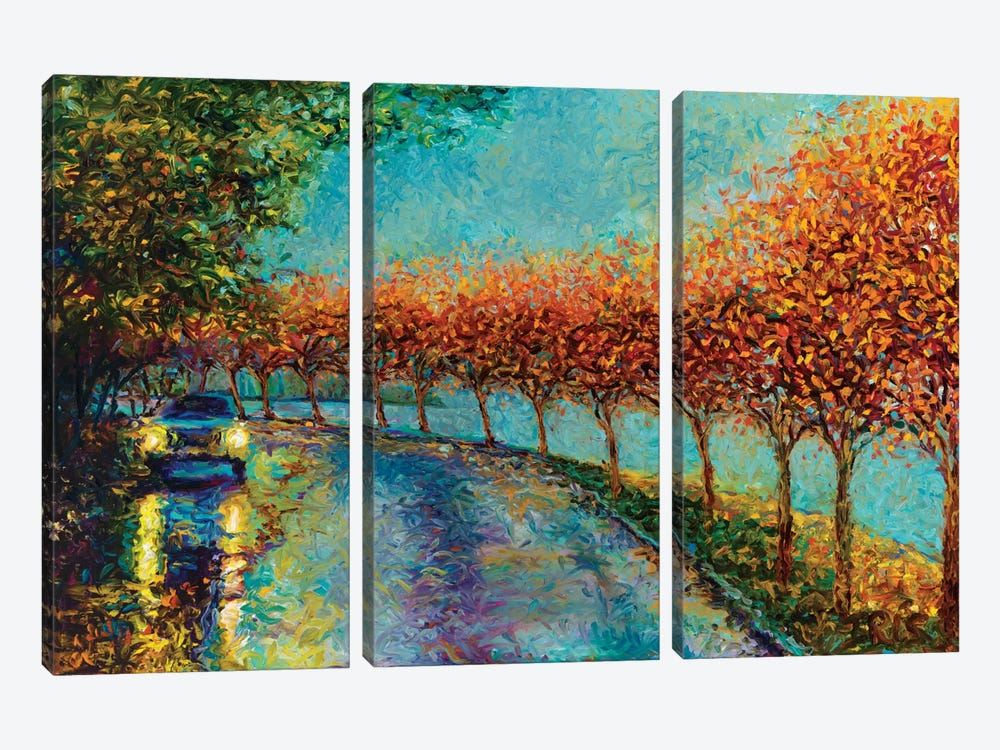 Lake Washington Boulevard by Iris Scott 3-piece Art Print