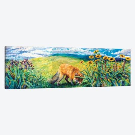 Foxy Triptych Canvas Print Set #IRS3HSET002} by Iris Scott Canvas Print