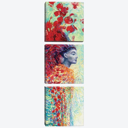 Egyptian Triptych Canvas Print Set #IRS3VSET001} by Iris Scott Canvas Art