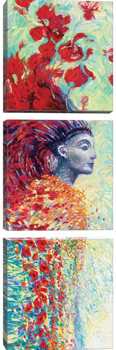 Egyptian Triptych Canvas Art Print