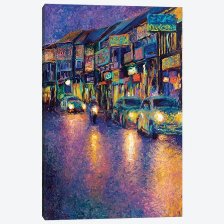 My Thai Headlights Canvas Print #IRS43} by Iris Scott Art Print