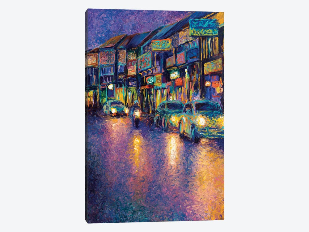 My Thai Headlights by Iris Scott 1-piece Art Print