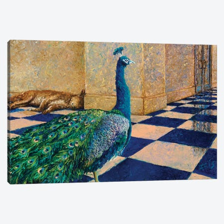 My Thai Peacock Canvas Print #IRS44} by Iris Scott Canvas Art