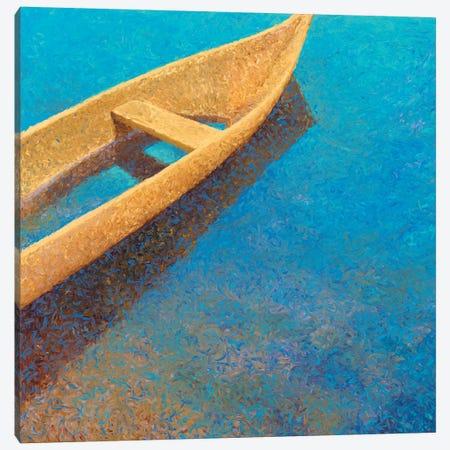 Nicaraguan Blues Canvas Print #IRS47} by Iris Scott Canvas Art