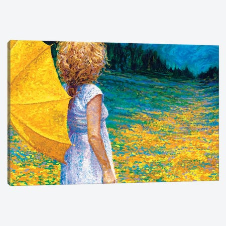 Past The Property Line Canvas Print #IRS53} by Iris Scott Canvas Wall Art