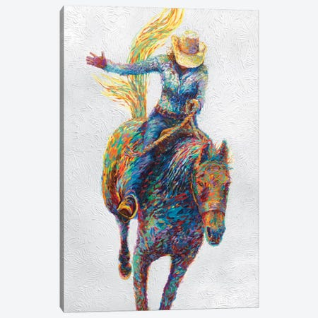 Rodeo Canvas Print #IRS58} by Iris Scott Canvas Artwork