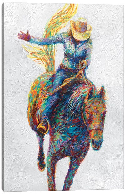 Rodeo Canvas Art Print