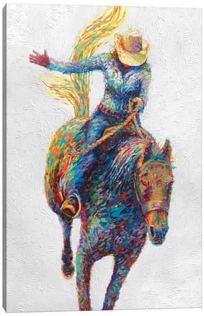 Rodeo Canvas Art Print