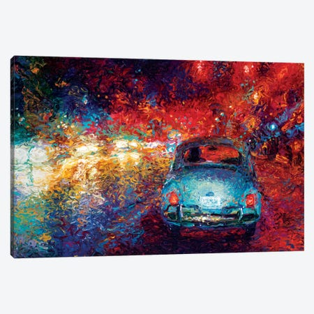 Becca's Bug Canvas Print #IRS5} by Iris Scott Canvas Wall Art