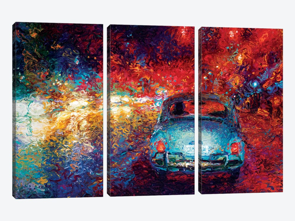 Becca's Bug by Iris Scott 3-piece Canvas Wall Art