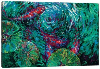 Serenity Spiral Canvas Art Print
