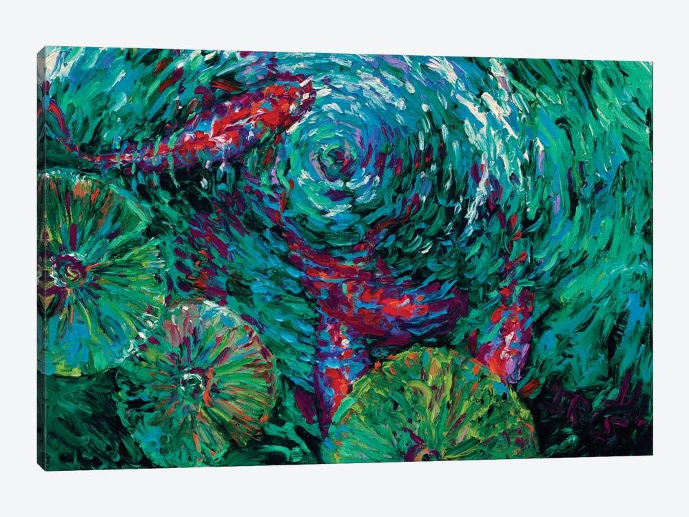 Serenity Spiral by Iris Scott 1-piece Canvas Art