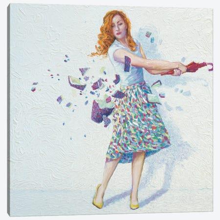 Shattered Canvas Print #IRS66} by Iris Scott Canvas Artwork
