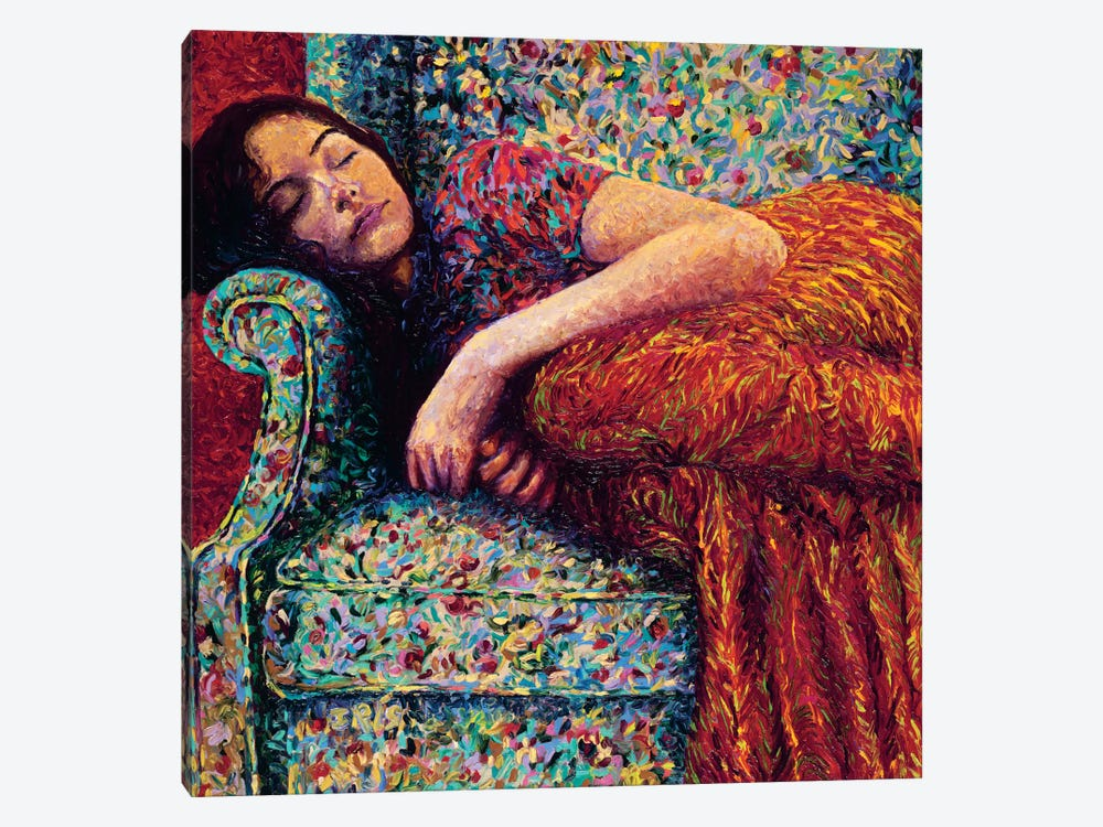 Sleepy Lee by Iris Scott 1-piece Canvas Print