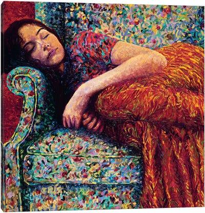 Sleepy Lee Canvas Art Print