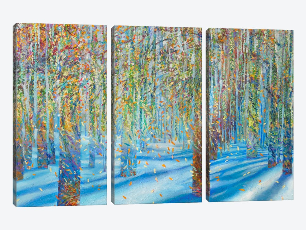 Snowfall by Iris Scott 3-piece Canvas Art Print
