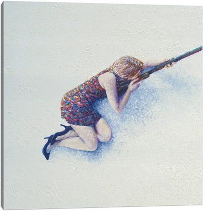 Snow Sniper Canvas Print #IRS71