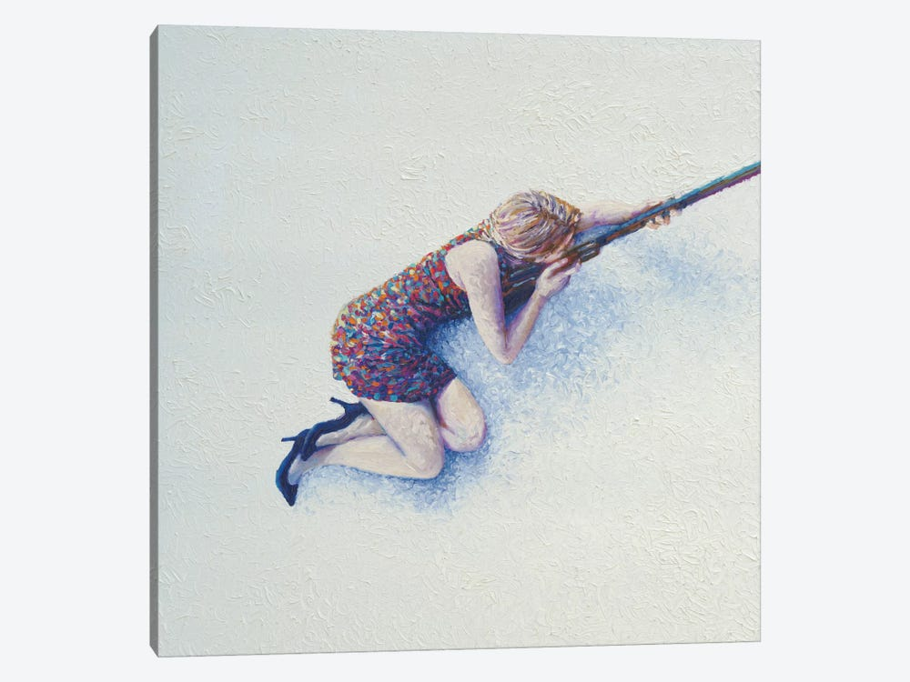 Snow Sniper by Iris Scott 1-piece Canvas Wall Art