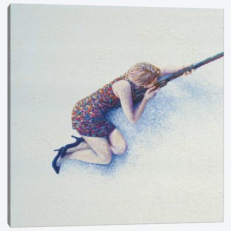 Snow Sniper Canvas Print #IRS71} by Iris Scott Canvas Artwork