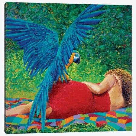 Paradise Canvas Print #IRS7} by Iris Scott Canvas Wall Art