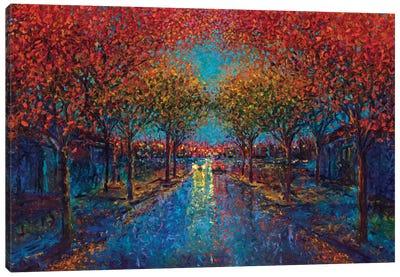 Symmetry Street Canvas Art Print