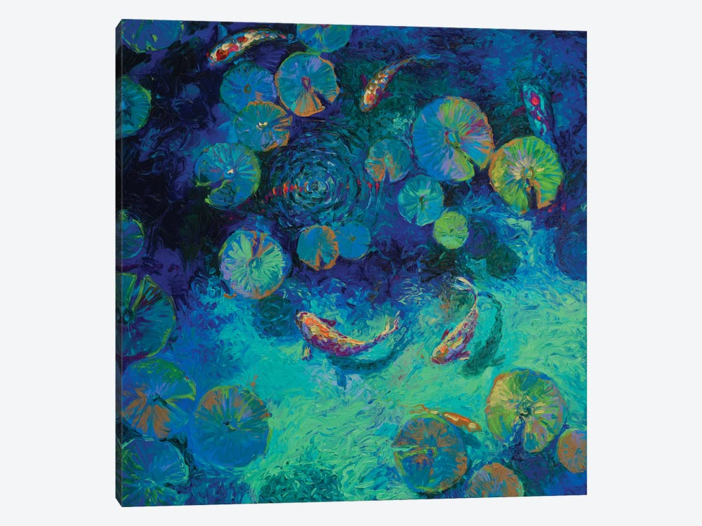 Taiwanese Blue by Iris Scott 1-piece Art Print
