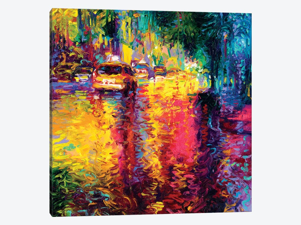 Taxi Jungle by Iris Scott 1-piece Canvas Artwork