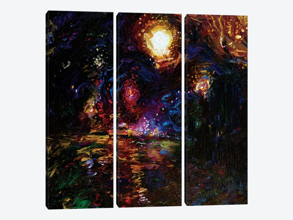 Taxi Weather 3-piece Art Print