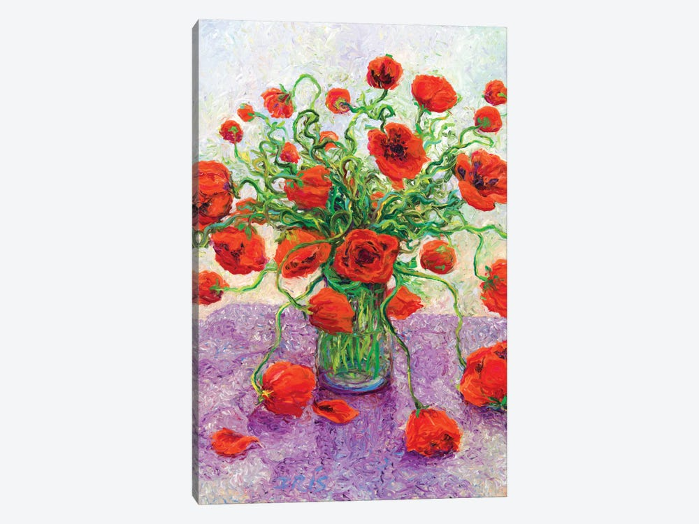 The Color Poppy 1-piece Canvas Artwork