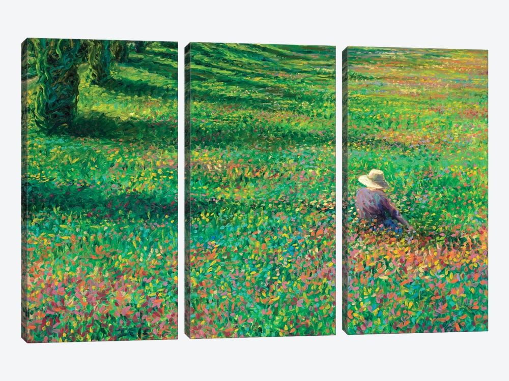 The Home Place by Iris Scott 3-piece Canvas Print