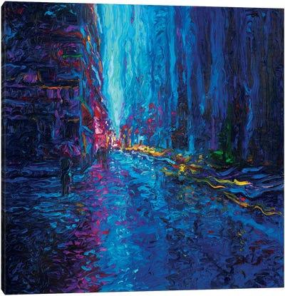 Waterfall Street Canvas Print #IRS94