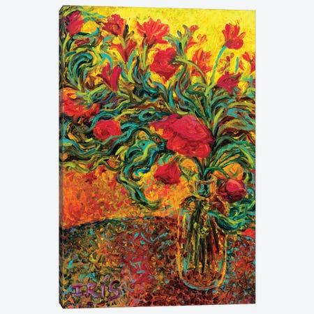 Watts of Neon Paint Canvas Print #IRS95} by Iris Scott Canvas Art Print
