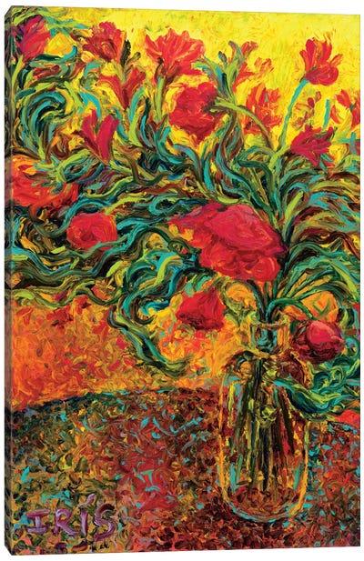 Watts of Neon Paint Canvas Art Print